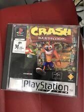 Crash Bandicoot Playstation 1 PS1 complete