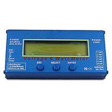 RC Helicopter Watt Meter DC 60V 100A Balance Voltage Battery Power Analyzer ED