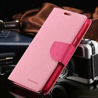 iPhone 7 Genuine MERCURY Goospery Pink Fancy Diary Flip Case Wallet Cover