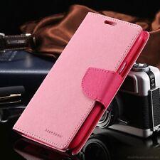 For iPhone 6/6s Plus Genuine MERCURY Goospery Pink Folio Flip Case Wallet Cover