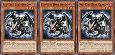 YUGIOH ORICA 3x-SET: Red-Eyes Baby Dragon [HANDMADE CUSTOM CARDS]