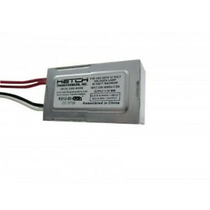 80W 12V Electronic Transformer - Replacement for Kichler Transformer DR16S