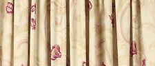 "Laura Ashley Curtains Baroque Raspberry 162cm (64"") X 137cm  (54"")"