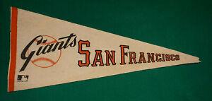 Vintage 1970's San Francisco Giants MLB Baseball Logo Pennant