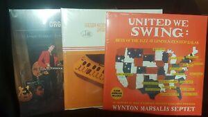 Jazz/Blues LP Bundle (Wynton Marsalis Septet/Gregor Hilden Organ Band/Trio)