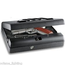 Gun Safe Nightstand Drawer Desk Combo Combination Microvault Pistol Lock Vault