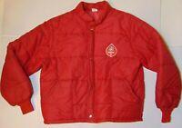 XL L Old Vintage 1970s Phillips 66 Philgas Gas Oil Farm Patch Winter Jacket Coat