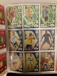 Panini Adrenalyn XL WORLD CUP 2018 RUSSIA SET COMPLETE 468 CARDS + BINDER