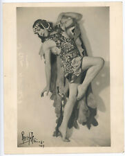 Pavley-Oukrainsky Ballet Premier Danseuse Original 1919 Signed Ray Huff Photo