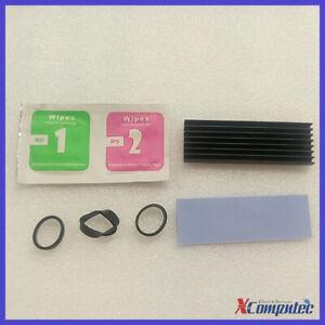 Cooling Heatsink for M.2 SSD SATA NVMe NGFF 2280 Drive 70*22*6mm Heat sink Black