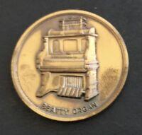 1968 Washington New Jersey WashingtonBoro Centennial Beatty Organ Token NJ