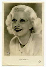 1930s Vintage movie star film JEAN HARLOW French photo postcard