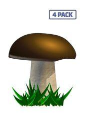 Mushroom Yellow Boletus Plant Sticker Vinyl Decal