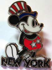 Disney Pin MICKEY Jerry Leigh NEW YORK Hands Behind