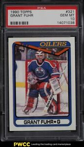 1990 Topps Hockey Grant Fuhr #321 PSA 10 GEM MINT