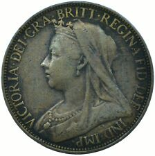 1896 ONE FARTHING GB UK QUEEN VICTORIA / VERY NICE COLLECTIBLE COIN #WT22401