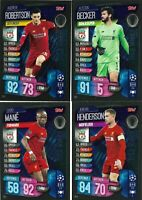 MATCH ATTAX EXTRA 2019/20 FULL SET OF ALL 4 TITLE WINNERS TW1-TW4