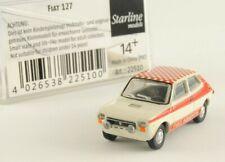 Brekina Fiat 127 Abarth Carabinieri Polizia Guardia di Finanza Arancione H0 1:87