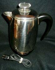 Vintage Farberware Superfast 2-8 Cup Percolator Coffee Pot Model 138 Made in USA