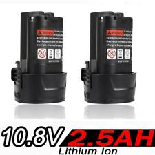 2x2.5AH 10.8V Li-ion Battery for Makita BL1013 BL1014 LCT203W 194550-6 194551-4