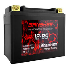 Lithium Ion 12-BS Sealed Motorcycle Starter Battery