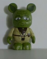 """Disney 3"""" Vinylmation Star Wars Series 1 Yoda Signed by Artist Mickey Mouse"""