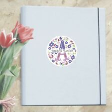 A4 Luxury Ultimate Wedding Planner/Organiser Personalised with Your Initial
