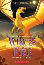 THE BRIGHTEST NIGHT Wings of Fire # 5 by Tui T Sutherland NEW pb chapter book
