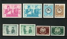 Middle East Full Sets of Unused Hinged postage stamps, MH