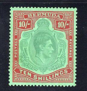1939 Bermuda. SG#119a. Mint, Lightly Hinged, VF.