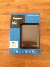 Maxtor M3 2TB HDD External Hard Drive USB 3.0