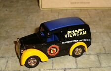 LLEDO - PROMO - 1950 MORRIS Z VAN - MANCHESTER UNITED F.C. SHARP VIEWCAM - BOXED