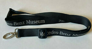 Mercedes-Benz Museum Textile Automobile Career ID Document Lanyard Adjustable