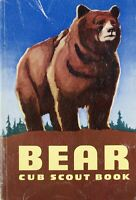 Vintage Boy Scout of America Bear Cub Scout Book 1954 Softcover BSA