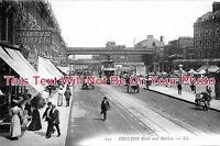 LO 281 - Brixton Road & Station, London - 6x4 Photo