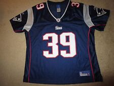 New England Patriots #39 NFL Reebok Jersey Womens XL