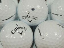 New listing 22 CALLAWAY GOLF BALLS PEARL /GRADE A PLEASE READ FOR RATINGS £1-00 POSTAGE