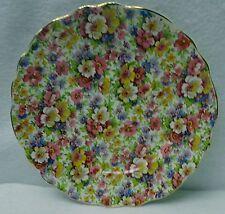 "KENT, JAMES England DUBARRY pattern Luncheon Plate - 8-3/4"" chintz"