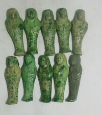 10 Rare Ancient Egyptian Antique Shabti Ushabti Statues Lime-Stone 1459-1245 Bc