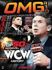 WWE: OMG! Vol. 2: The Top 50 Incidents in WCW History (DVD, 3-Disc Set) New