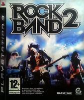 Rock Band 2 PS3 Playstation 3 FREE UK/IE POSTAGE No manual