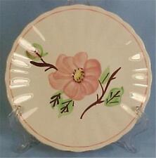 Rock Rose Bread Plate Blue Ridge Southern Pottery Vintage Dinnerware Hand Paint