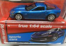 2011 11 CHEVY CORVETTE ZO6 Z06 BLUE SPORTS CAR VETTE 2500 AW AUTO WORLD
