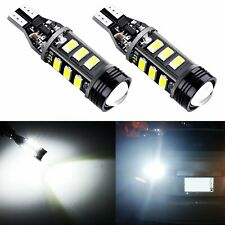 JDM ASTAR 2x 921 Wegde Amber 5730 12-SMD Yellow LED Lights Bulbs 912 906 904 922