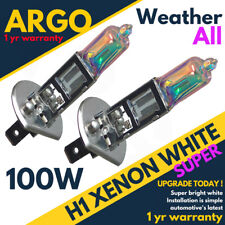 H1 Xenon 448 White 100w All Weather Hid Fog Head light Lamps Bright Bulbs 12v
