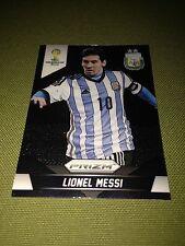 2014 Panini Prizm World Cup #12  Lionel Messi  ARGENTINA BARCELONA