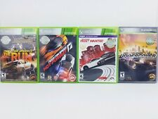 Need For Speed: Xbox 360 Lot of 4 Undercover, The Run, Hot Pursuit, Most Wanted