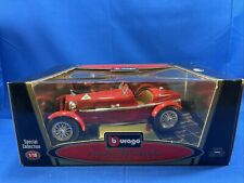 New Listing1931 Alfa Romeo 8C Monza - Red | 1:18 Scale - Burago - Special Edition Car - Nos