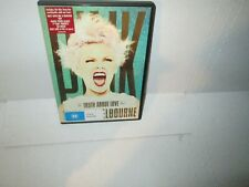 PINK - THE TRUTH ABOUT LOVE TOUR - LIVE FROM AUSTRALIA 2013 dvd 21 songs MINT