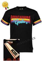 "GCDS Abracadabra T-Shirt (XL) RRP;£190 Rainbow *BNWT* Black Pit-Pit 22.5"""